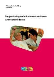 Zorgverlening coördineren en evalueren ... - Zorg Basisboeken