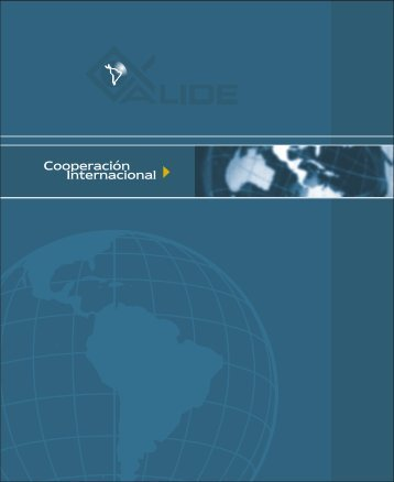 Cooperación Internacional - Alide