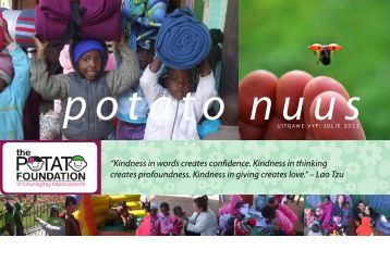 Nuusflits Julie 2011 - The Potato Foundation