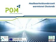 samenvattende presentatie - POM West-Vlaanderen