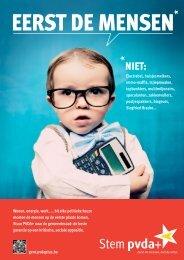Folder - PVDA Gent