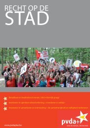 PVDA+ Kortrijk brochure lokale verkiezingen 2012 - PVDA Mechelen