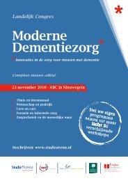 Moderne Dementiezorg - StudieArena