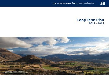 Part 1 - Long Term Plan 2012 - 2022 - Otago Regional Council