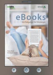 eBooks - Ein Ratgeber für Einsteiger - Die Onleihe