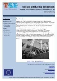 TSE Nieuwsbrief - Juni 2011