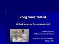 Zorg voor talent - Verso