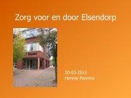 Sessie 2.7 Elsendorp zorg en welzijn in eigen dorp.pdf - StudieArena
