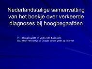 Nederlandstalige samenvatting van het boekje over ... - WifiHw.nl
