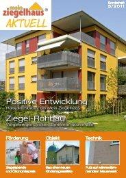 Mein Ziegelhaus Aktuell 03/11 - Adolf Zeller GmbH & Co. Poroton ...