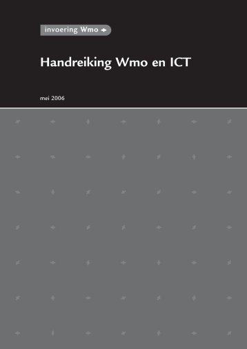 Handreiking Wmo en ICT - Ketens & Netwerken