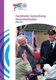 Factsheets Samenhang Decentralisaties - Vereniging van ...