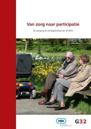 Van zorg naar participatie - Vereniging van Nederlandse Gemeenten