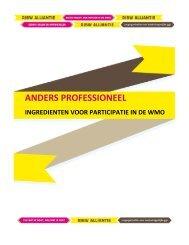 ANDERS PROFESSIONEEL - In voor zorg!