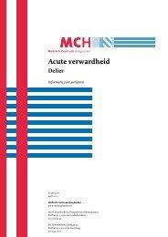 Acute verwardheid - Medisch Centrum Haaglanden