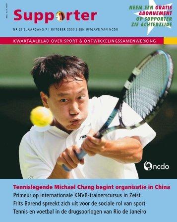Supporter 27 (2007 – 3e kwartaal) - Sport Development