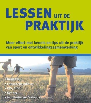 LESSEN PRAKTIJK - Sport Development