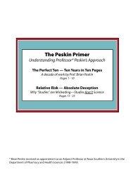 The Peskin Primer - Succesboeken