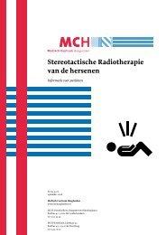 Stereotactische Radiotherapie van de hersenen - Medisch Centrum ...