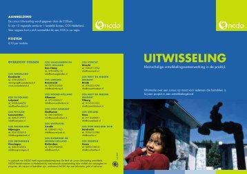 Cursus Uitwisseling - Sport en Ontwikkelingslanden
