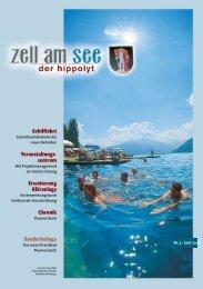 Der Hippolyt Nr. 02 - Juni 2001 - Stadtgemeinde  Zell am See ...