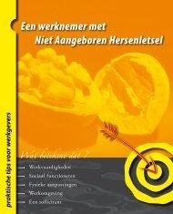 Download brochure 'NAH' - Werken met een beperking