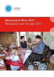 Jaarpublicatie Benchmark Wmo 2012 - Invoering Wmo