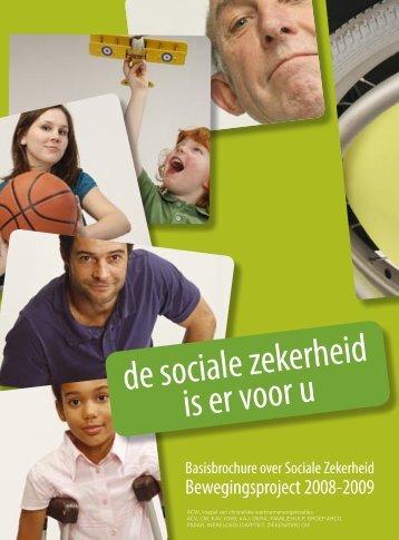 de sociale zekerheid is er voor u