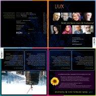 Grote denkers over de toekomst LUX: Grote denkers over de ... - IKON