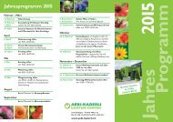 Jahres- und Kursprogramm 2015