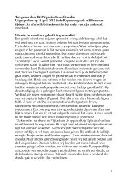 Toespraak door IKON-pastor Bram Grandia Uitgesproken op 19 ...