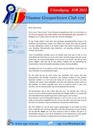 Uitnodiging en vraagprogramma (pdf) - Nederlandse Grasparkieten ...