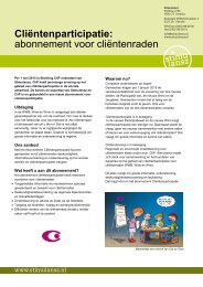 aanbod - Stichting CliP