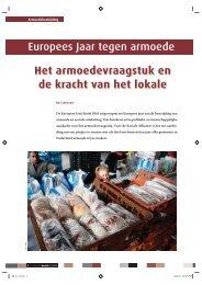 Europees Jaar tegen armoede Het ... - Stichting CliP