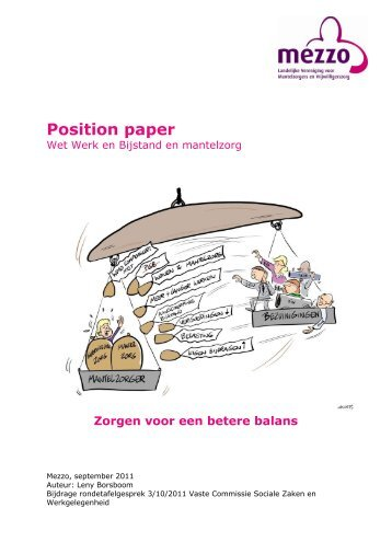 Position paper - Koepel Wmo-raden