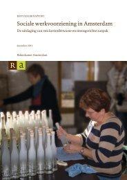 Download (PDF) - Rekenkamer Metropool Amsterdam - Gemeente ...