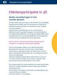 Download de folder - Stichting CliP