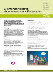folder - Stichting CliP
