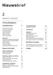 Nieuwsbrief Visio Revalidatie & Advies in Zuidwest-Nederland van 3 ...