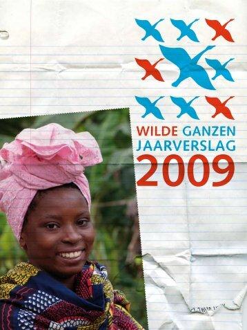 Jaarverslag Wilde Ganzen 2009