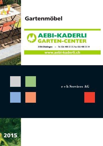 Gartenmöbel 2015