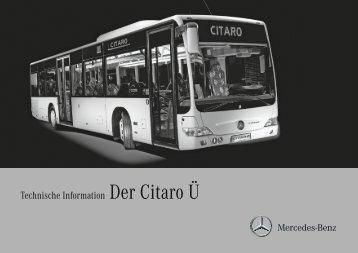 Technische Information Der Citaro Ü