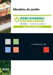 Meubles de jardin 2015