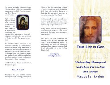Vassula Ryden - True Life In God