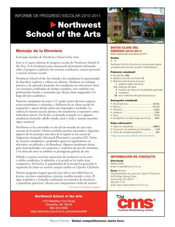 Northwest School of the Arts - Charlotte-Mecklenburg Schools