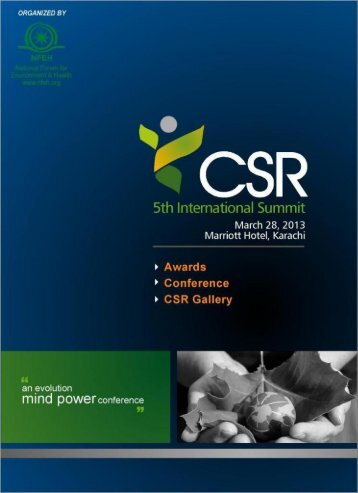 CSR Brochure - Energy Update