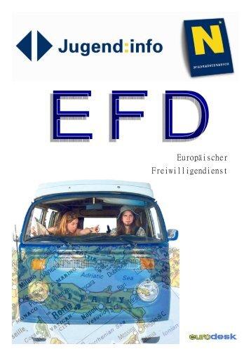 Zum Infoblatt Europäischer Freiwilligendienst…