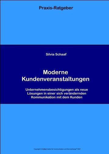 Moderne Kundenveranstaltungen - [iks] Institut für Kommunikation ...