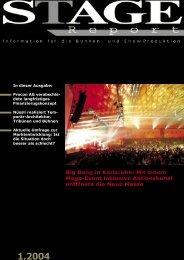 Stage Report 01-2004 - werkplan.com