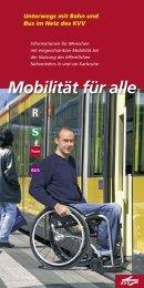 Mobilität für alle - KVV - Karlsruher Verkehrsverbund